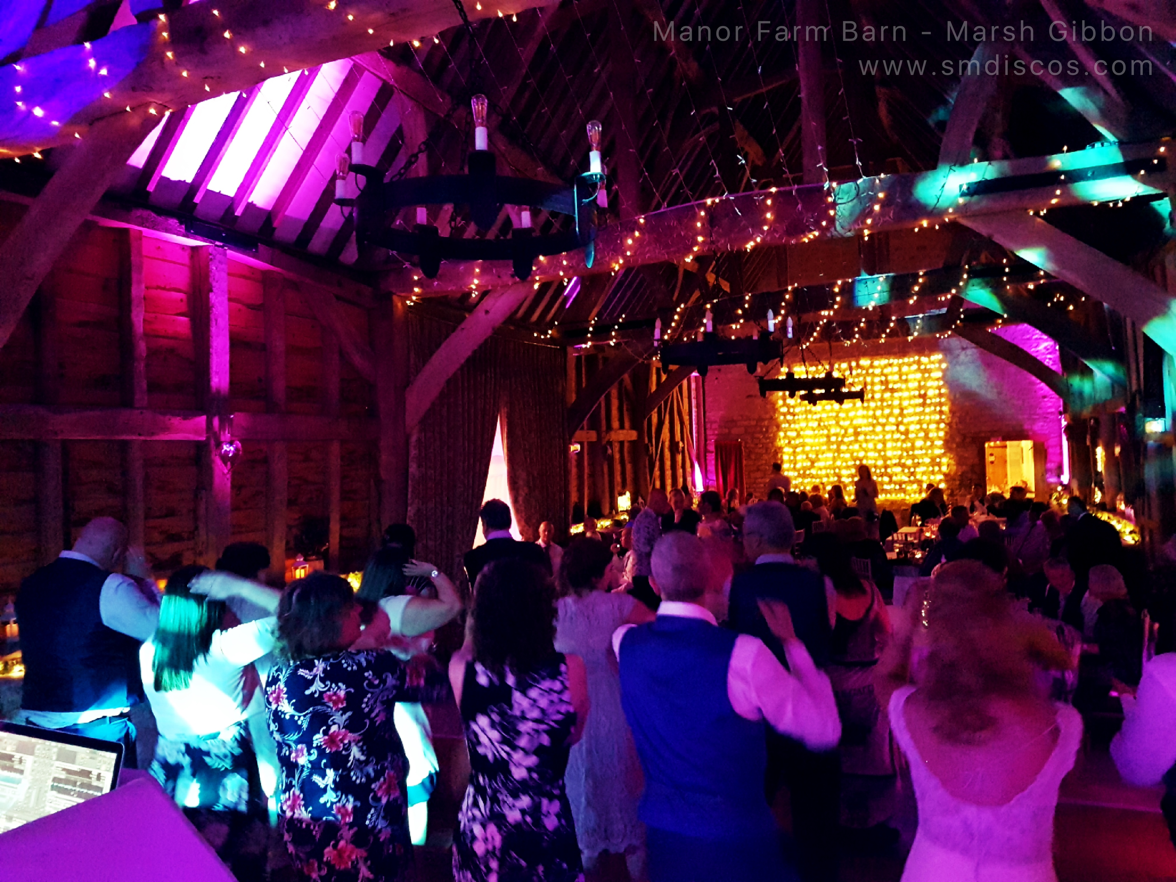 Manor Farm Barn Wedding Disco