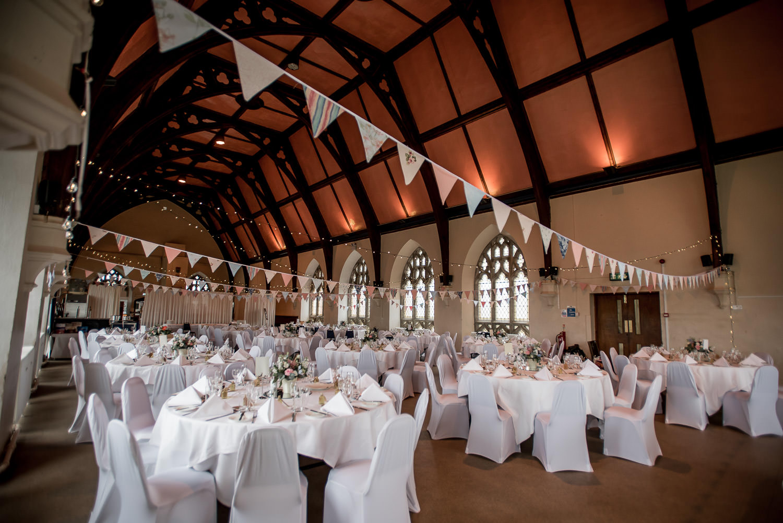Wedding day at Clifton College Bristol