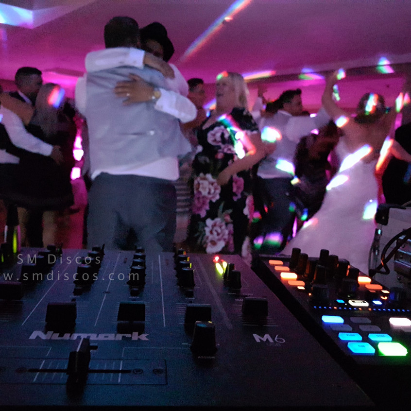 Westwood Hotel Oxford Wedding SM Disco