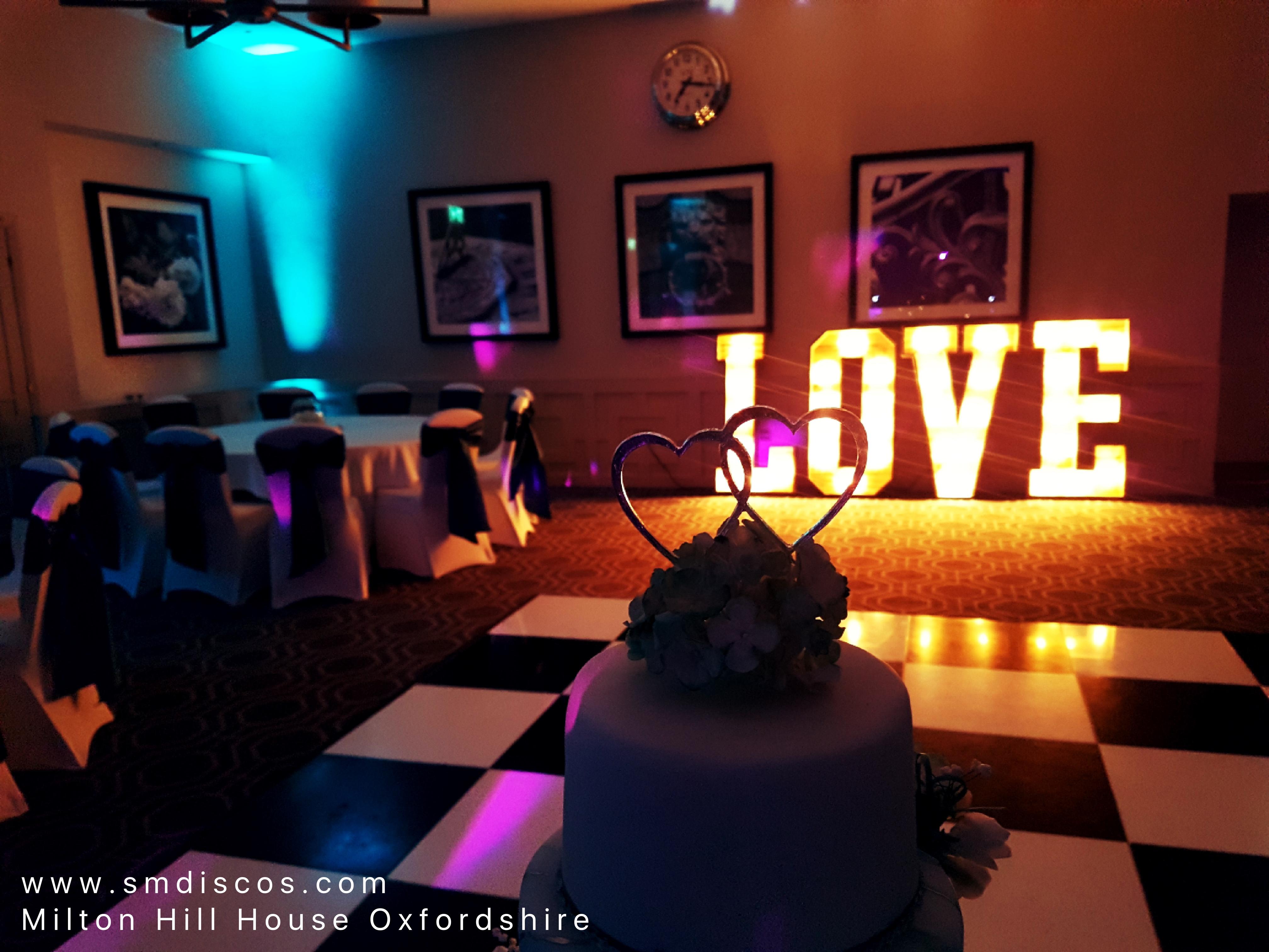 Wedding DJ Milton Hill House