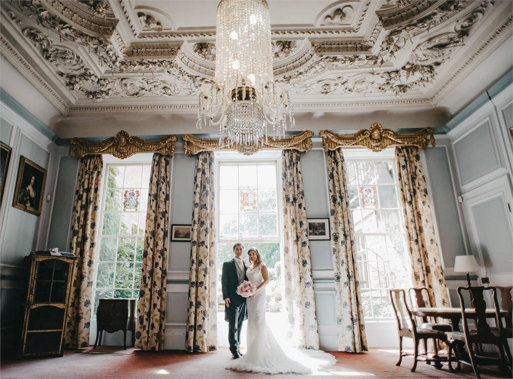 wedding at Brickwall House