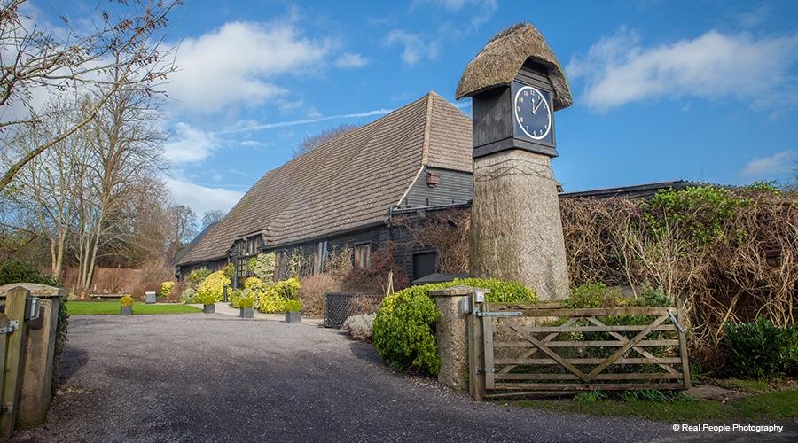 Clock Barn Wedding Day