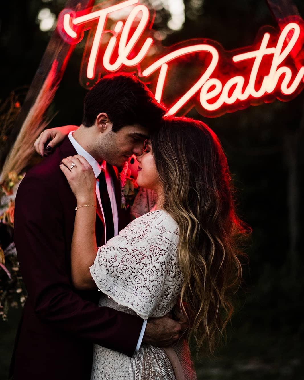 til death neon