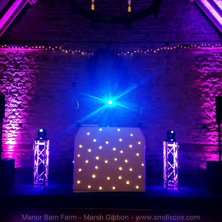 Oxfordshire Wedding Discos Barn Wedding.