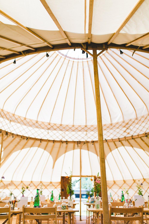 Oxford Yurt Wedding