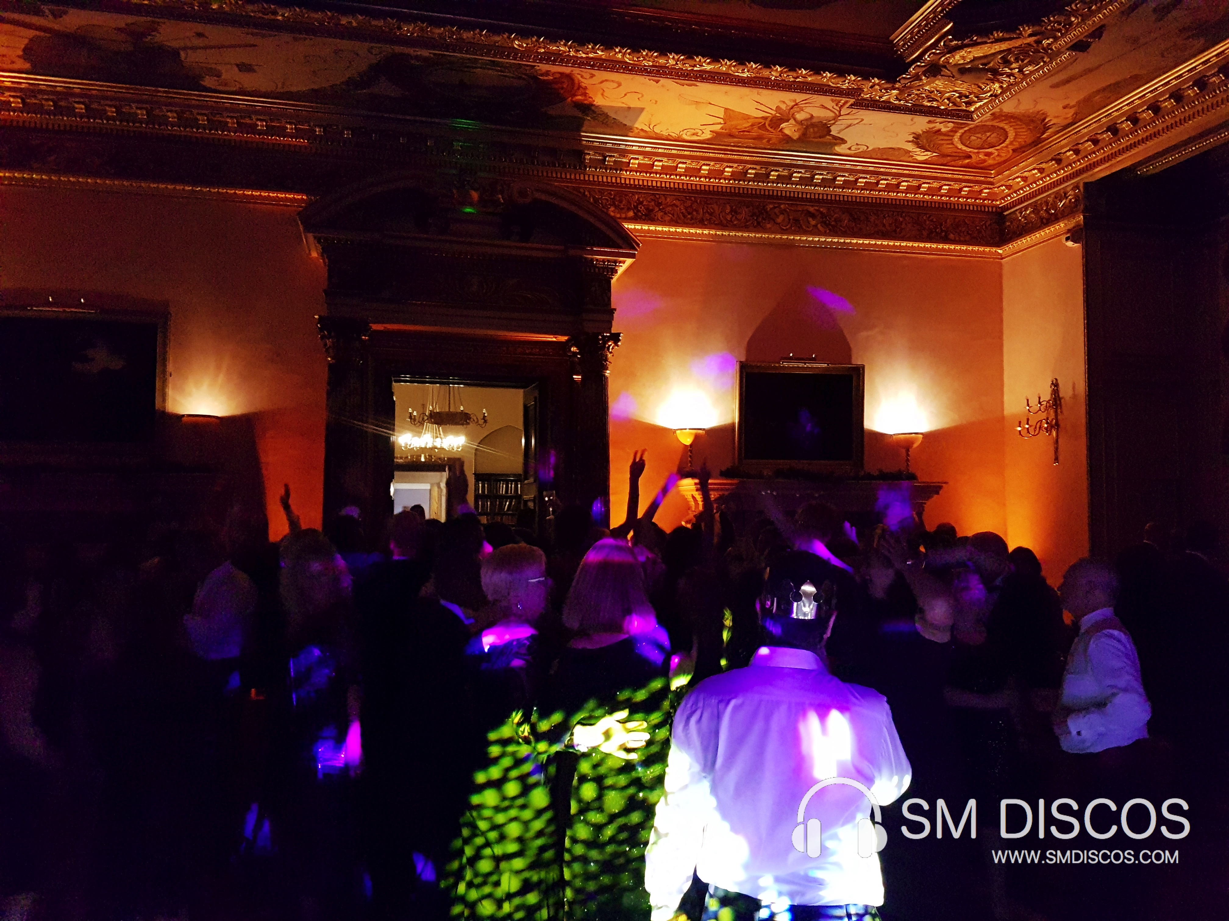 Disco and DJ at Ashridge House