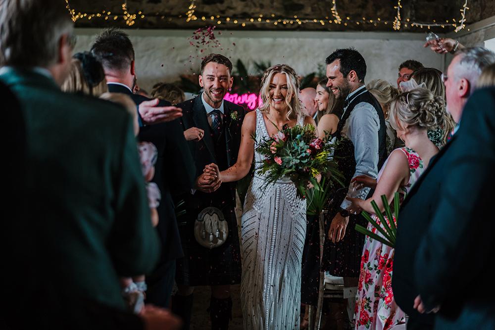 young love neon wedding