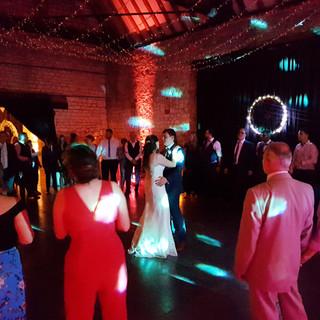 Christina & Davids wedding at Monks Barn