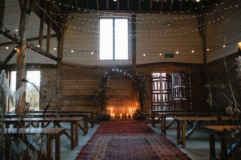 sussex wedding barn The Cherry Barn