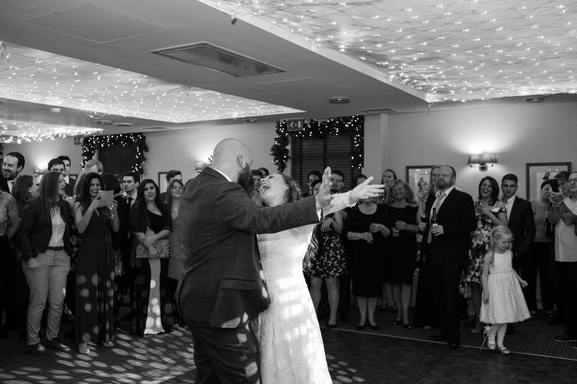 Highfield Park wedding DJ