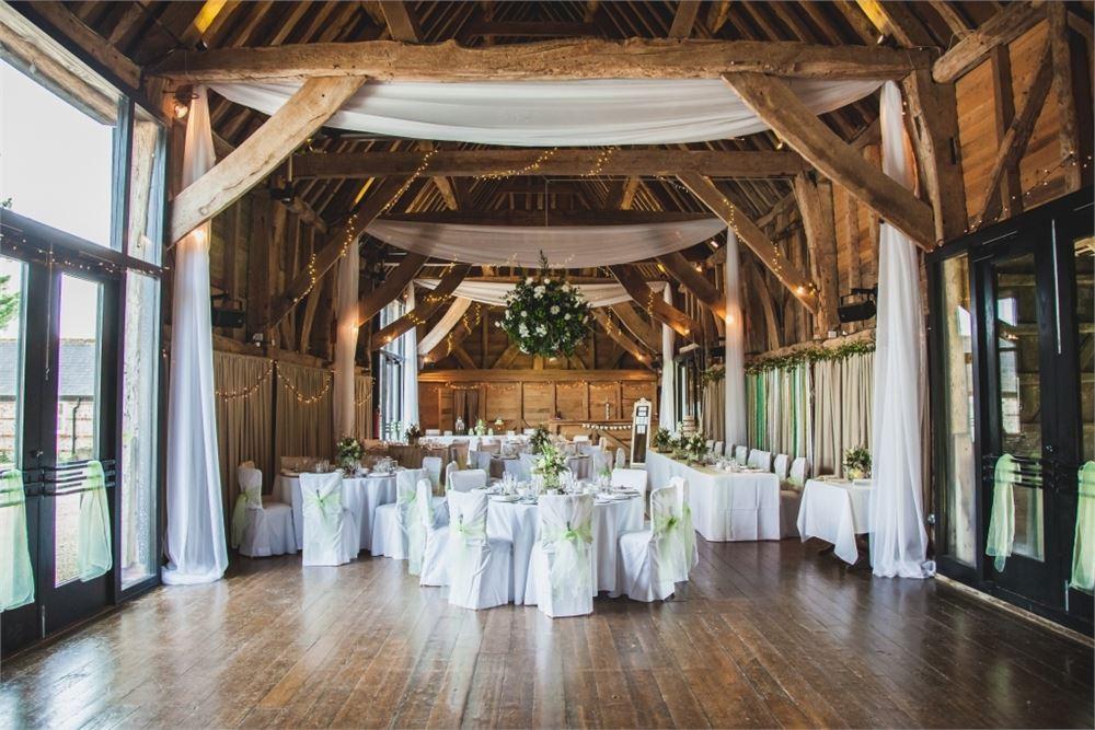 barn wedding in sussex Michelham Priory.