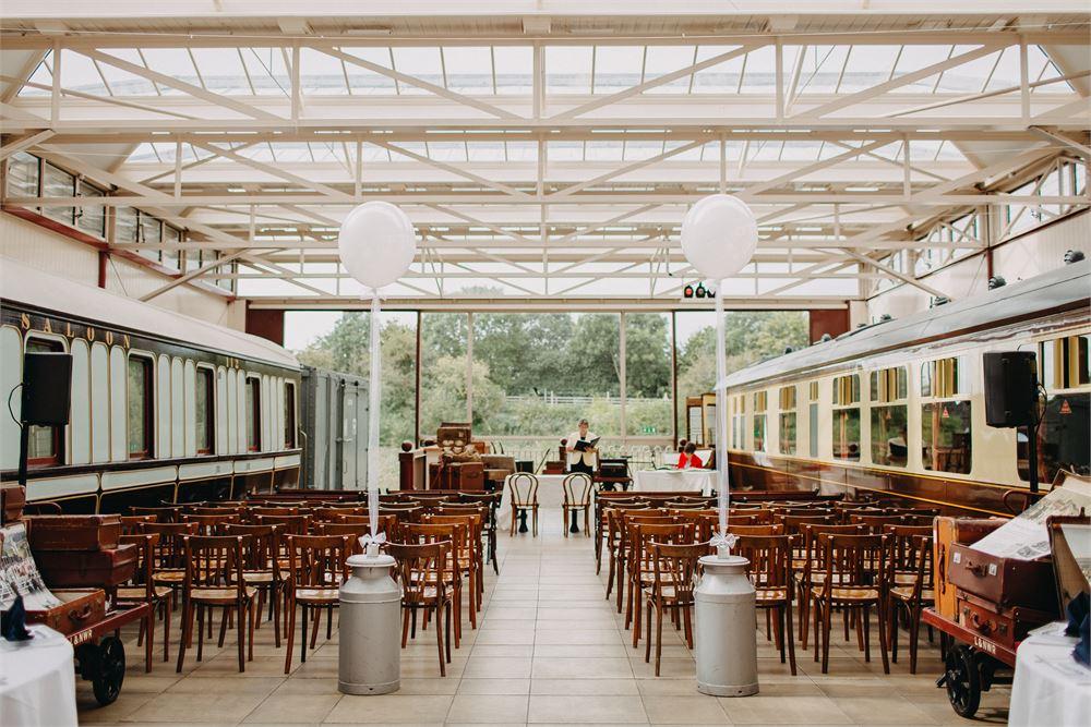Buckinghamshire Railway Centre Wedding D