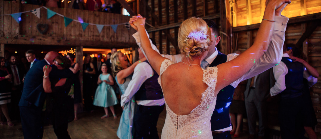 stokes farm barn wedding dj