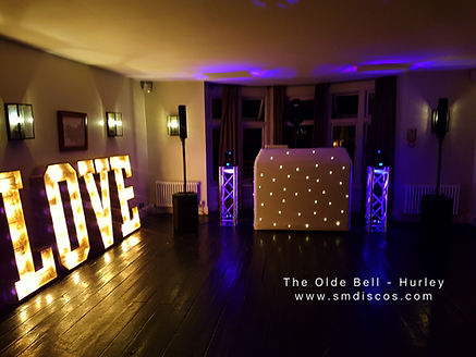 The Olde Bell Wedding disco.jpg