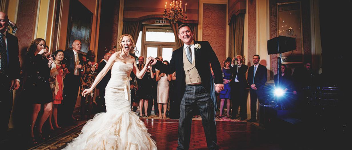 stoke park wedding dancing