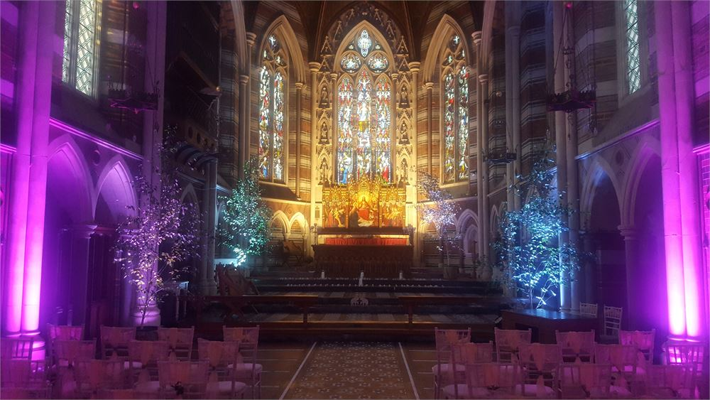 All Saints Chapel lighting