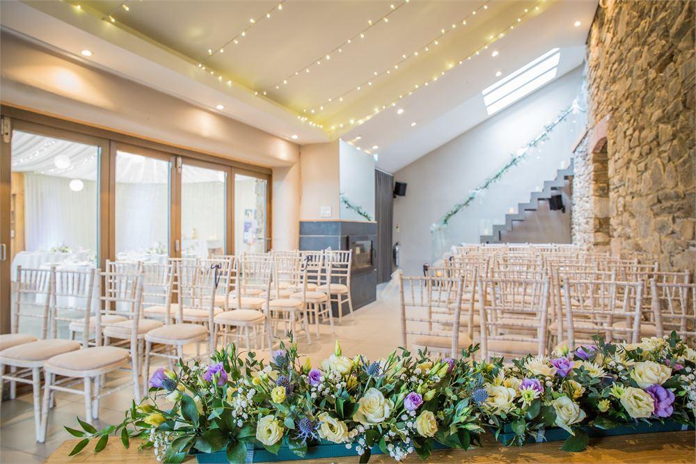 Barn wedding in Cornwall