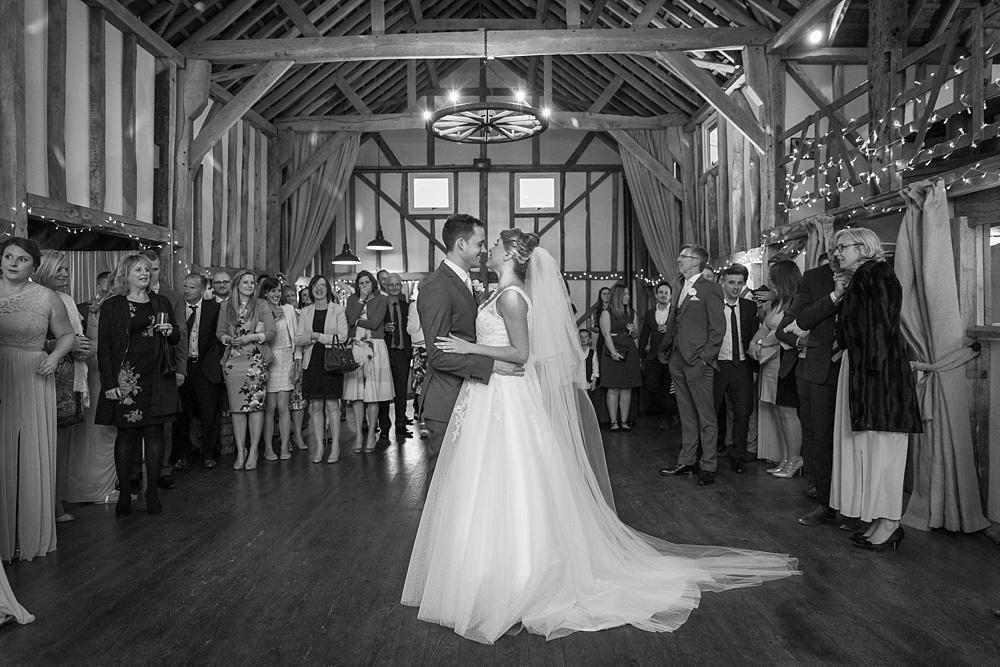 wedding DJ pitt hall barn