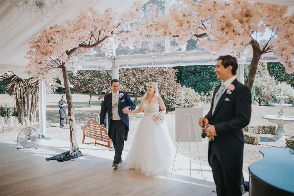Wedding dj for Hutton Hall