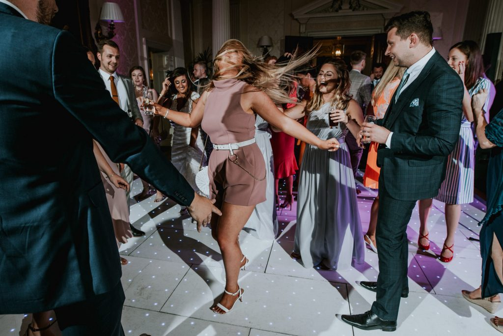 DJ Disco hire at Hedsor House Wedding