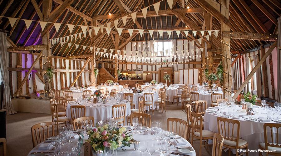 Wedding DJ Clock Barn