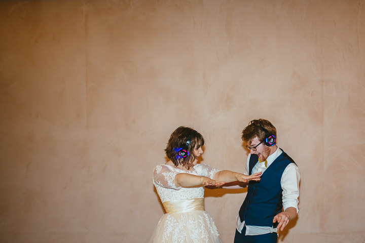 wedding silent disco hire