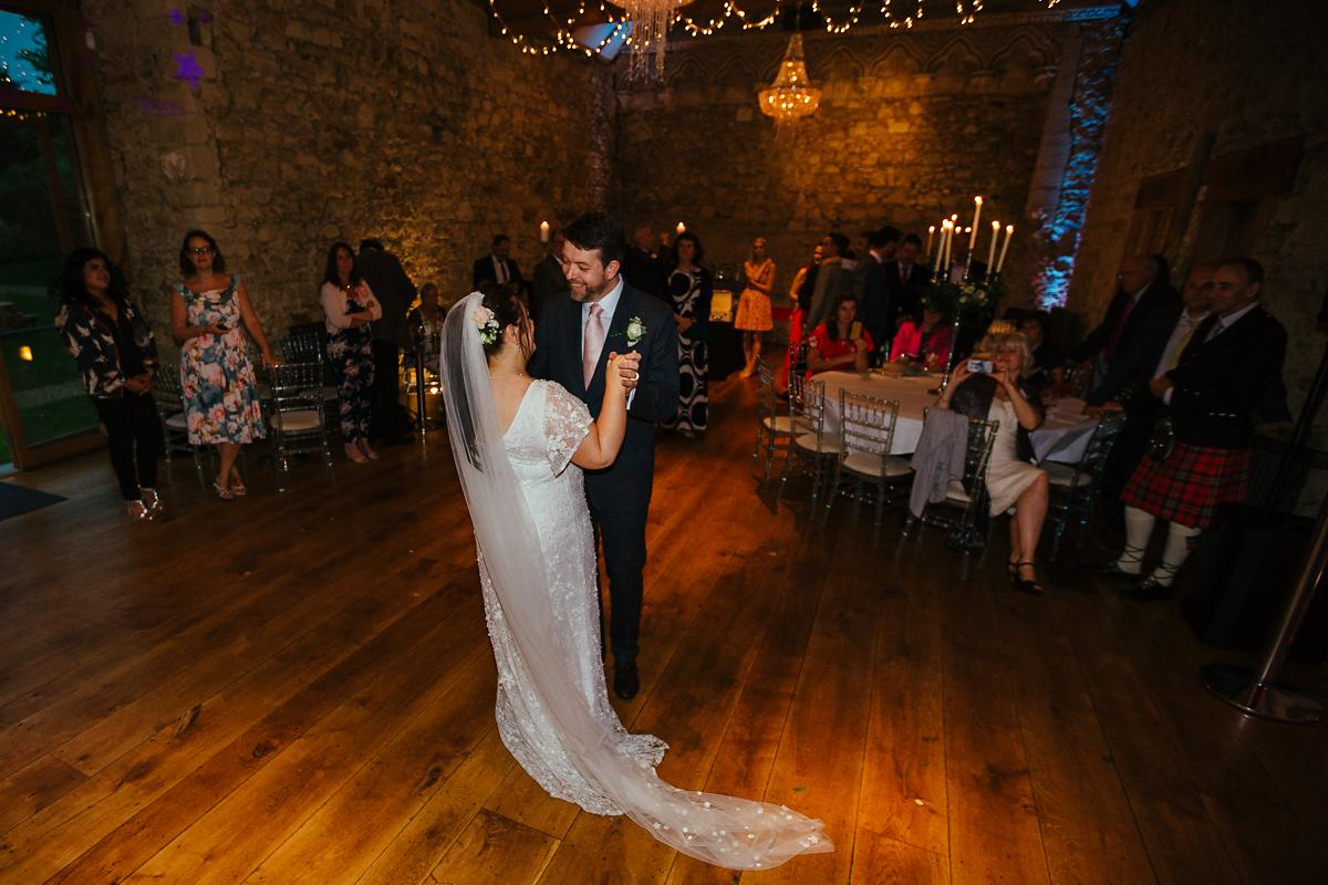 Notely Abbey Wedding DJ Claire and Steve