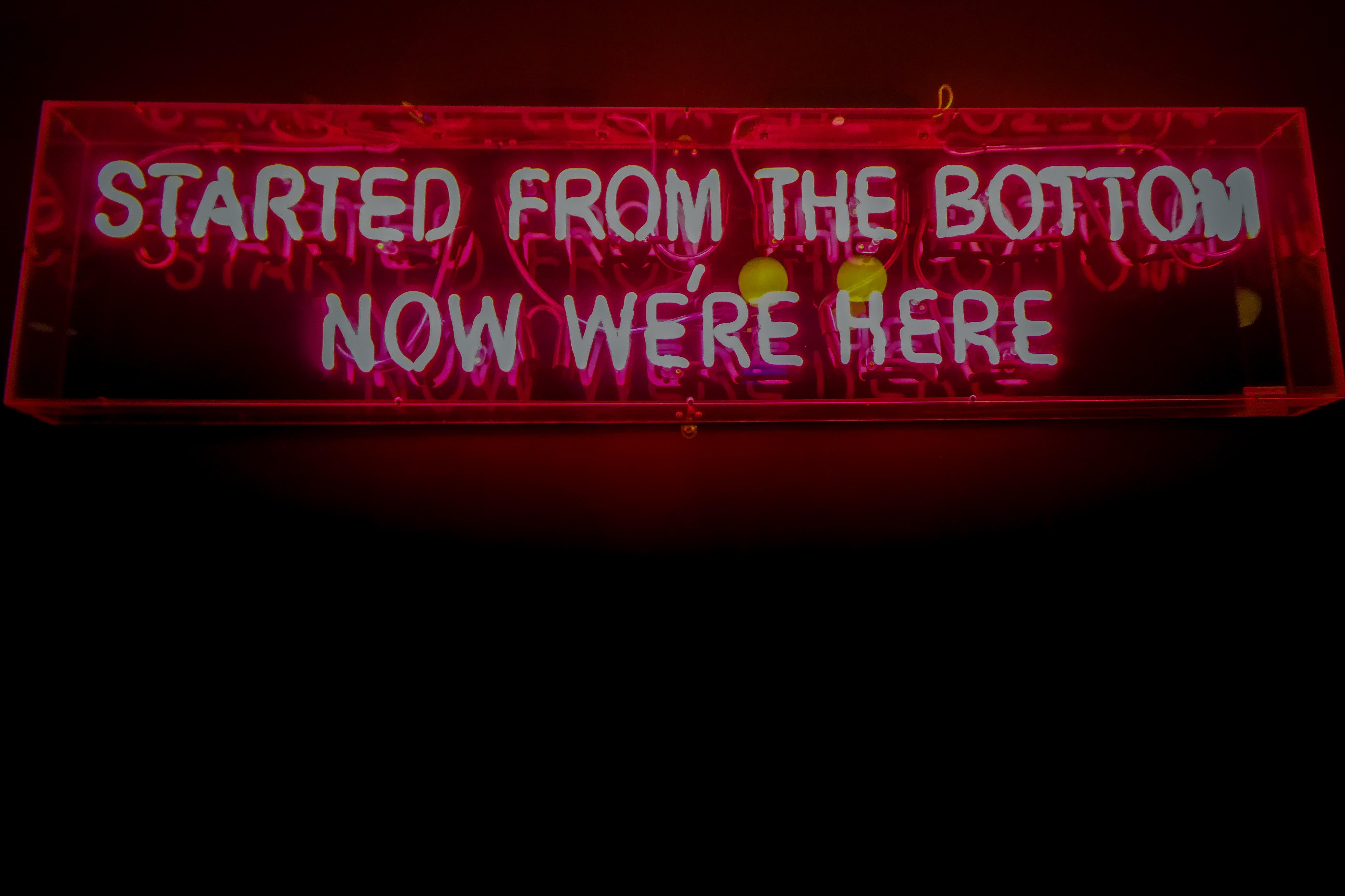 drake neon sign
