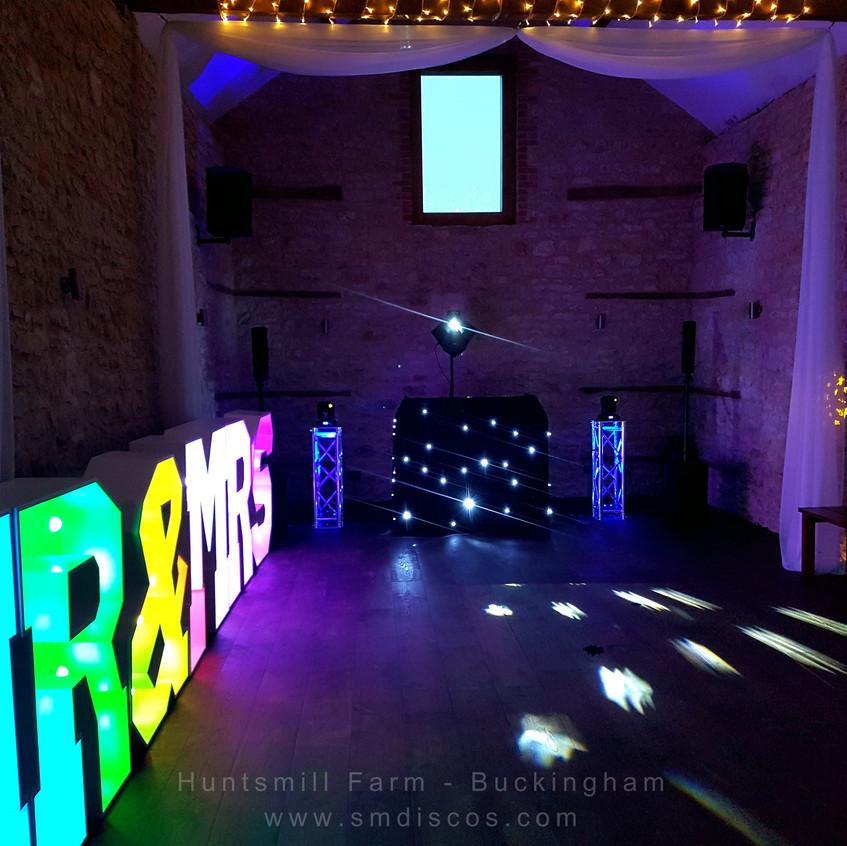 Wedding DJ Huntsmill Farm Buckingham