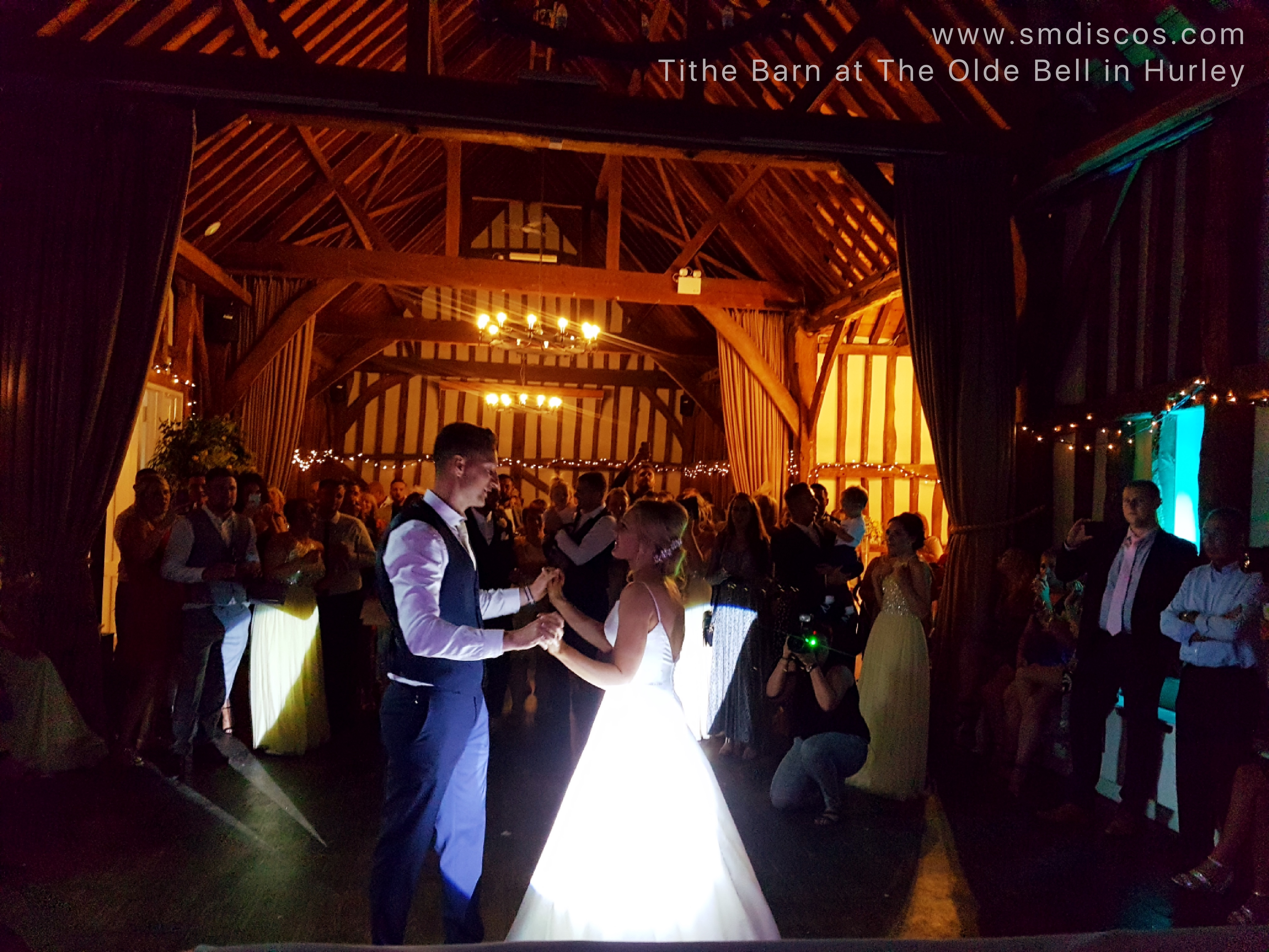 Tithe Barn wedding DJ