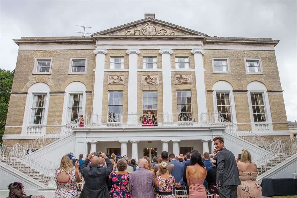 wedding day at Castle Goring