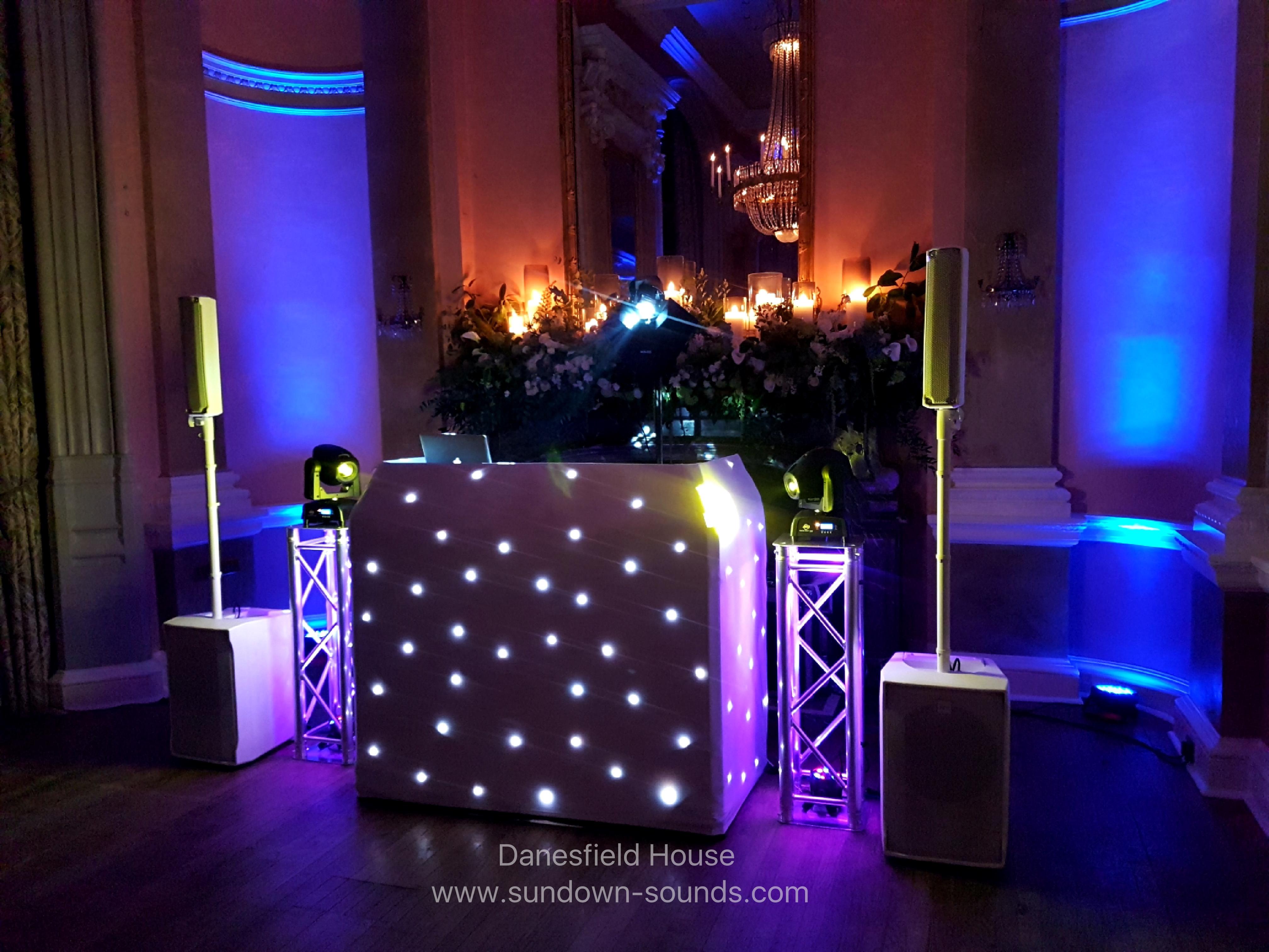 wedding DJs Danesfield House