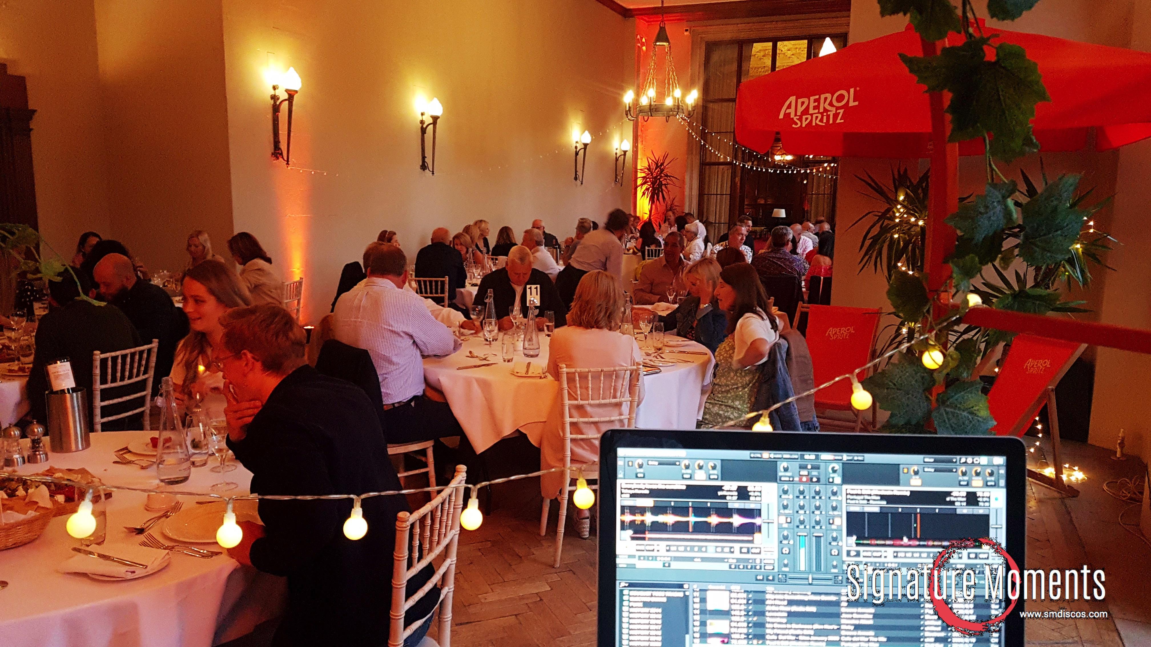 Ibiza chillout DJ evening