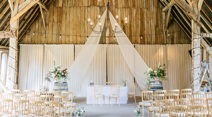 HAMPSHIRE WEDDING Clock Barn