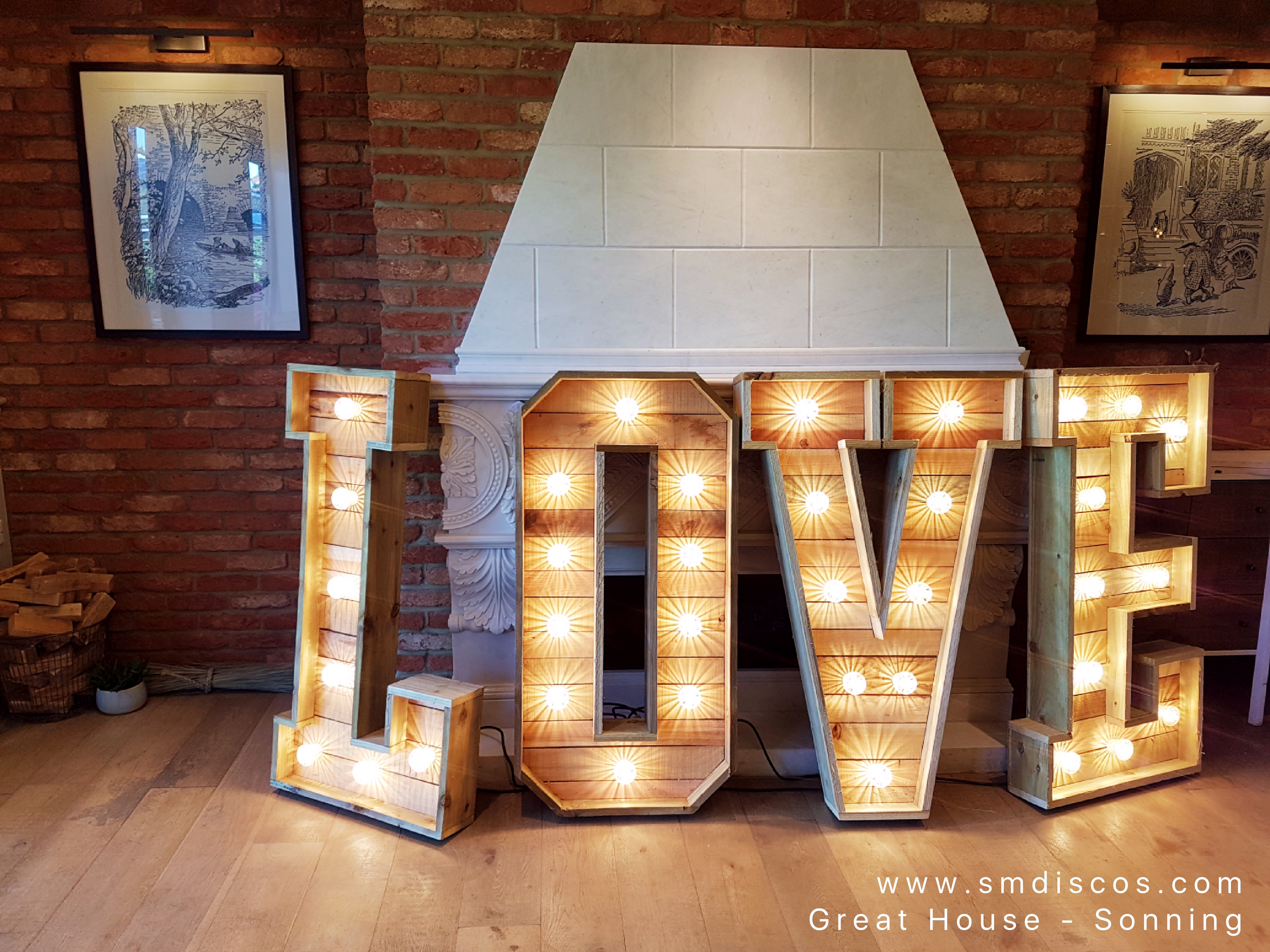 Love letter hire - Great House Sonning