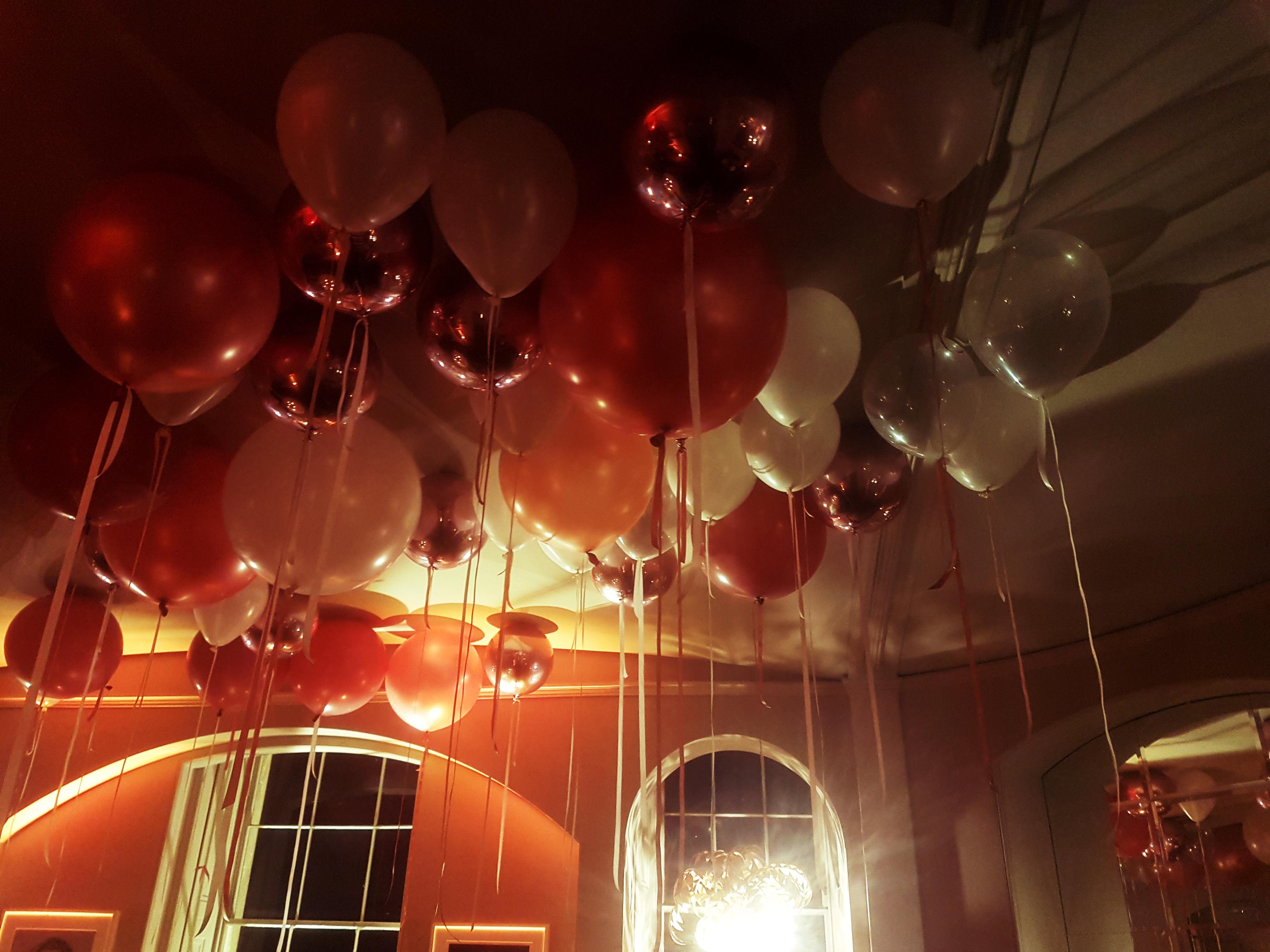 Wedding Balloons Aynhoe Park Oxfordshire