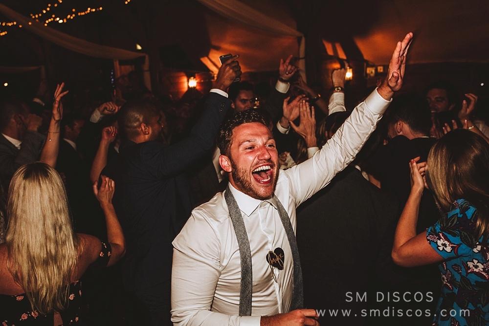 Lains Barn Wedding Kate & Mike SM Discos