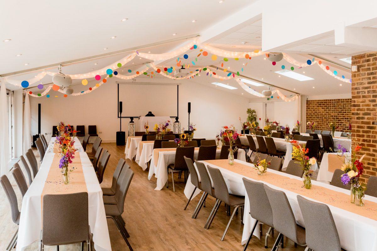 Garden House Venue Wedding Day