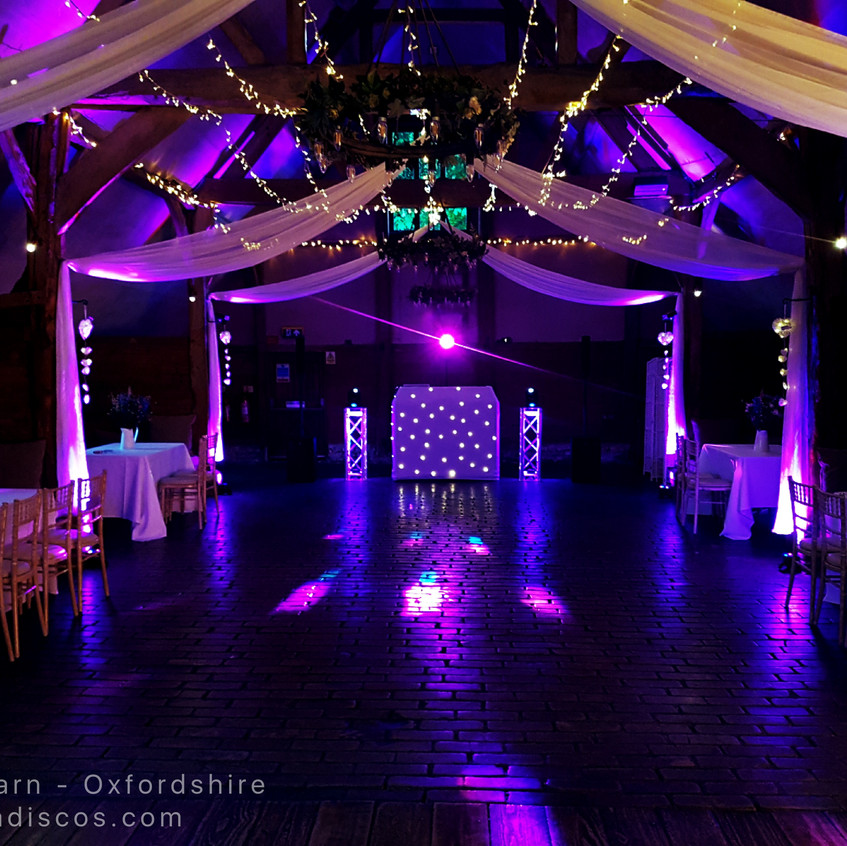 Wedding DJ Lains Barn