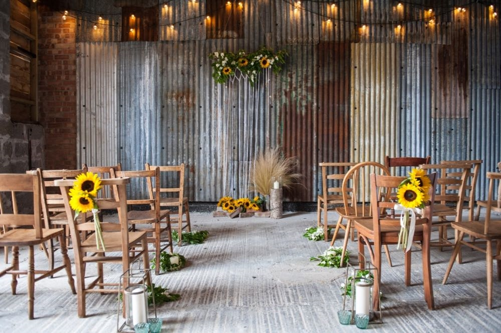 Country Barn Wedding Cornwall