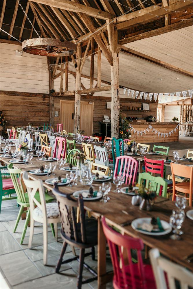 The Cherry Barn wedding day