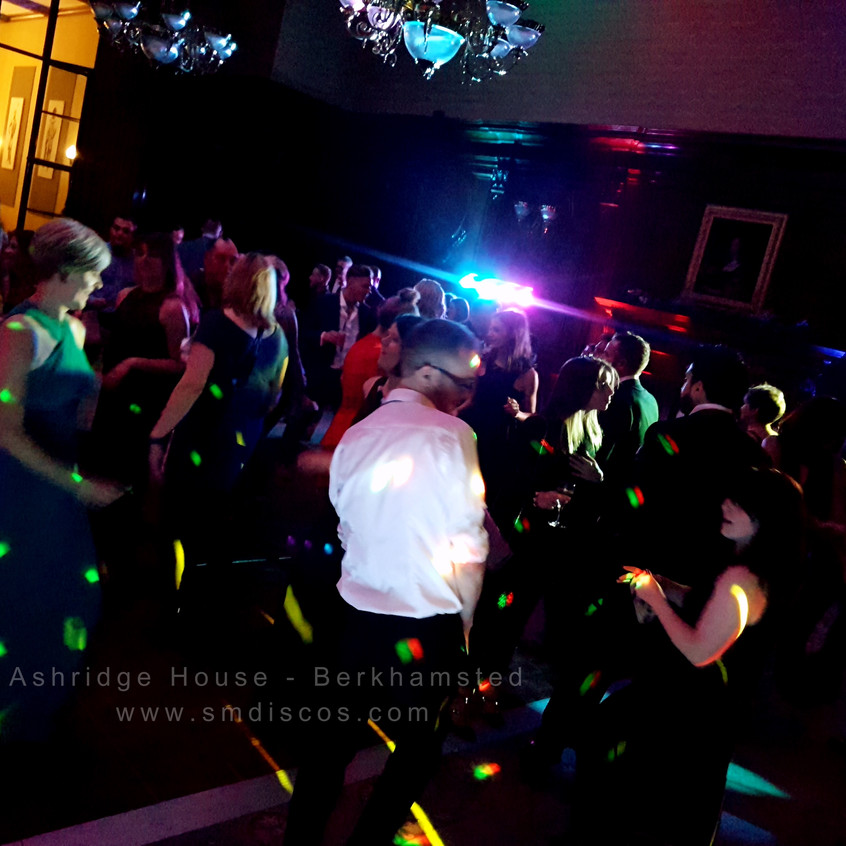 wedding event dj for ashridge house