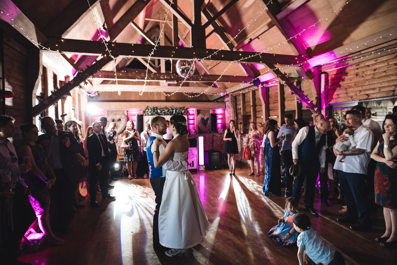 Wedding Discos at Wellington Barn