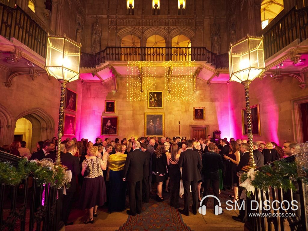Uplighting at Ashridge House