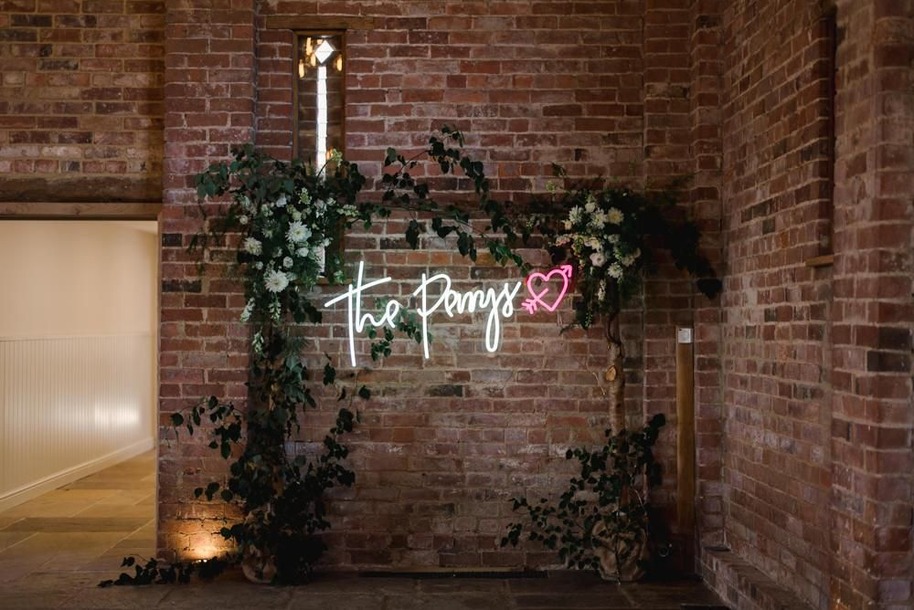 surname neon signs