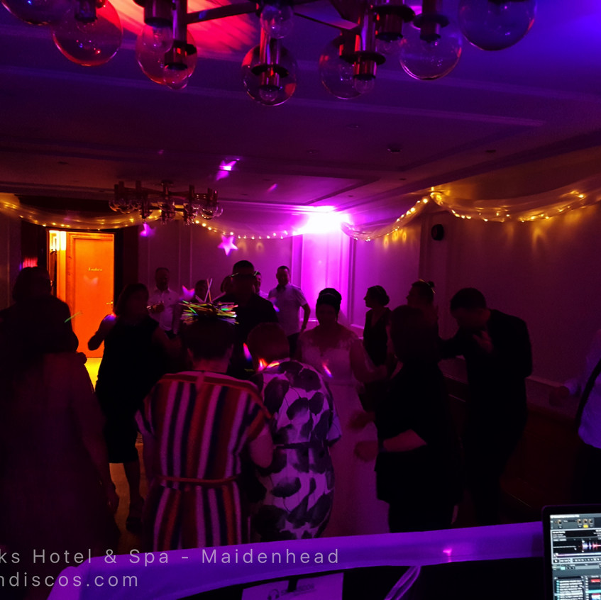 Wedding Disco in Maidenhead