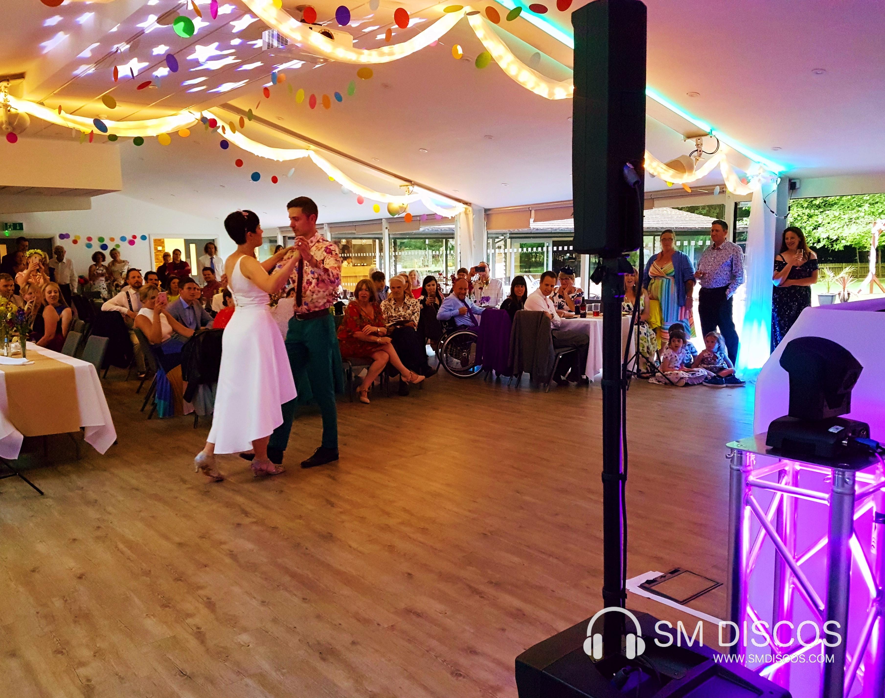Garden House Venue Wedding Disco