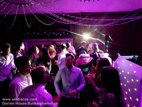 Dorton House Wedding DJ / Maddy & Max's wedding