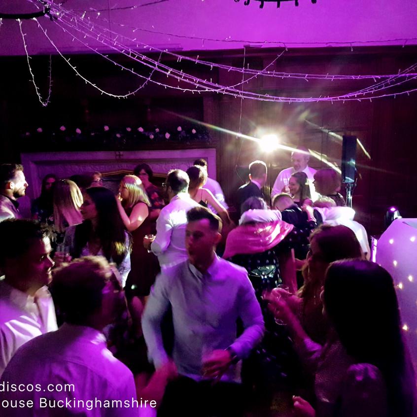 Disco at Dorton House in Aylesbury