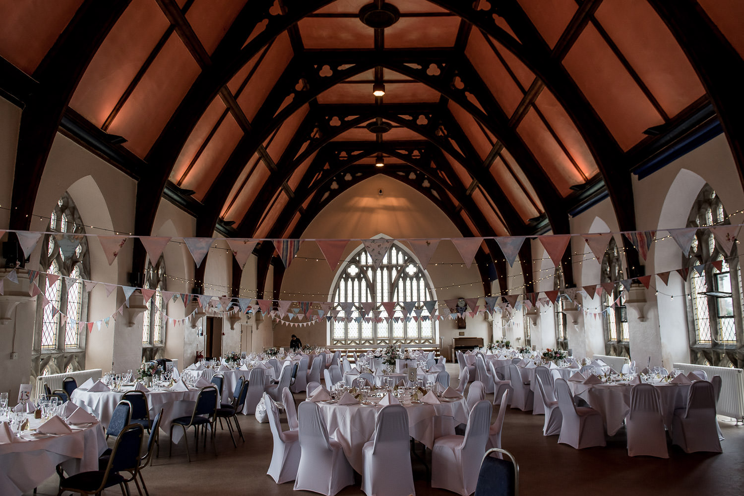 Uplighting at Clifton College